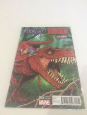 Moon Girl And devil dinosaur 5 Variant Comic Rare HTF