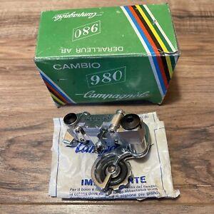 NOS Vintage Campagnolo Cambio 980 Rear Derailleur with Dura-Ace Pulleys