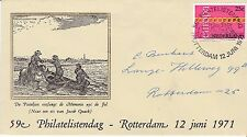 Commemorative cover, Netherlands stamp exposition, 1971, with Europa #488