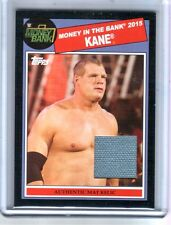 WWE Kane 2015 Topps Heritage Black Money In The Bank Mat Relic Card SN 34 of 50