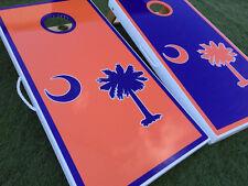 South Carolina Palmetto Custom Cornhole Boards