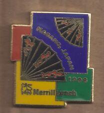 1998 Merrill Lynch Nagano Olympic Pin Fans