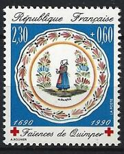France 1990 croix-rouge Yvert n° 2646 neuf ** 1er choix