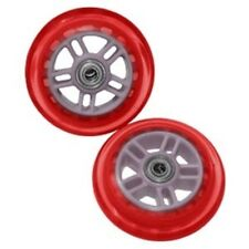 Razor USA A Scooter Series Wheels W/Bearings (Set Of 2) Red 134932-RD NEW