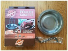 Barbecue Weber Poulet canette grill BBQ cuisine jardin grillade charbon grille