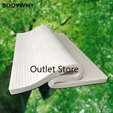 Latex naturel tatami Latex Surmatelas pour Queen Twin Bed 1.5/1.8m