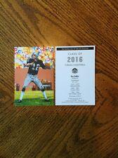 2016 Ken Stabler Raiders unsigned Goal Line Art Card in Topload Plastic