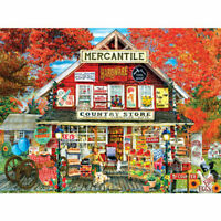 General Country Store 500 Piece Puzzle - NEW Factory Sealed
