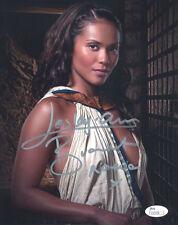 "(Ssg) Leslie-Ann Brandt Signed 8X10 ""Spartacus"" Photo - Jsa (James Spence) Coa"