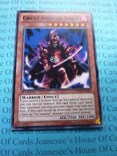 Great Shogun Shien SDWA-EN009 Common Yu-Gi-Oh Card 1st Edition New