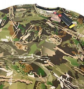 Under Armour Men's UA Forest Camo Early Season Long Sleeve Shirt L, XL, 3XL