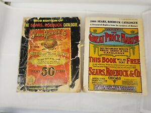 1908 Copy of Sears Roebuck Catalogue Collectible Catalog umber 117 Vintage