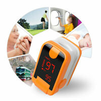Fingertip Pulse Oximeter SPO2 PR Respiratory Rate Blood Oxygen Monitor FDA