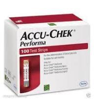 Accu Chek Performa 100 Test Strips for Blood Sugar Glucometer