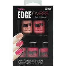 FING'RS Edge OMBRE Nail Polish LOT ART set KIT 32866 PINK Colors New Sealed GIFT