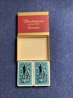 Vintage Blackstone Canasta Playing Cards- Double Deck 2 Jokers per Deck