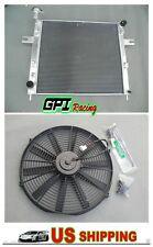 Radiator JEEP GRAND CHEROKEE 4.0 L6 6CYL 99-04 AT/MT Drivers Side Fill+FAN