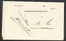 NAAMST. OMMEN OP PORTVRIJ MILITIE DRUKWERK- DEN HAM 14 SEPT.1875    Ad070