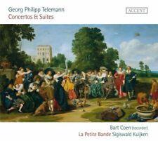 S. Kuijken - Telemann: Concertos & Suites [New & Sealed] CD
