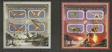 Bhutan SC # 931a-d and 933a-d  Dinosaurs - Prehistoric Animals .  MNH