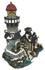 Lemax Christmas Village Carole Towne Lighthouse 2002