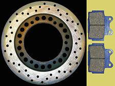 Yamaha XJ600S Diversion rear brake disc & pads (92-03) high grade steel