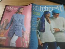 VINTAGE STITCHCRAFT MAGAZINE 1970's MAY 1970 KNITTING FOR YOUR HOLIDAY 19+ IDEAS