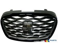 NEW GENUINE SEAT LEON 2006-2013 FRONT CUPRA R GRILL BLACK 1P0853651D 9B9