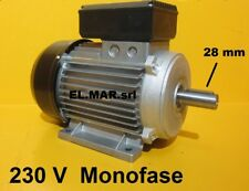 MOTORE ELETTRICO MONOFASE 4 HP kw 3 1400 G 4 poli ponte sollevatore auto 230 V