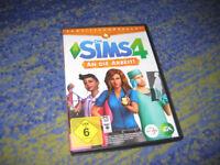 Die Sims 4 - An die Arbeit (Erweiterungspack) PC richtige DVD in DVD Hülle
