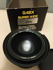 0.42X Super Wide Camera Lens Anphil Japan