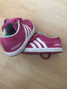 Girls Size 11 Adidas Neo Trainers