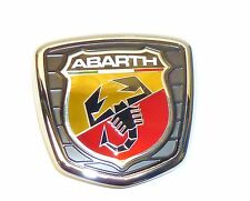 Brand new Genuine Fiat Punto Evo Abarth front grille / bonnet badge 735521148