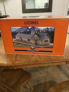 Lionel Very Rare Aluminum Tinplate Rico Station From 2000 , 6-32997, New C-9