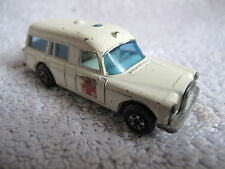 "LLEDO Matchbox #3 Mercedes Benz ""Binz"" Ambulance    *"