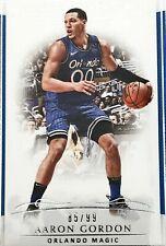 2018-19 Panini National Treasures Basketball #70 Aaron Gordon 85/99 Magic NBA