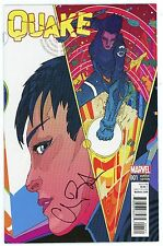 """CHLOE BENNET Authentic Hand-Signed QUAKE #1 WARD VARIANT """"Shield"""" (EXACT PROOF)"""
