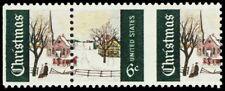 1384, Mint NH 6¢ Xmas Huge Misperforation ERROR Stamp - Stuart Katz