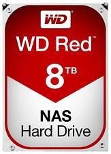 "Western Digital WD RED NAS 3.5"" disco rigido interno SATA 6gb/s 8tb 5400rpm"