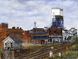 Fryston Colliery - 1870 - 1985 - Ltd Ed Print - Pit Pics - Coal Mining