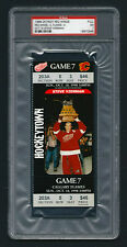 PSA 7 STEVE YZERMAN Unused NHL Ticket for the Flames at the Red Wings