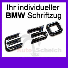 Schriftzug Emblem Logo Aufkleber 3D Zeichen für BMW E21 E30 E36 E46 E90 M3 M5