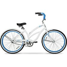 "26"" Hyper Womens Beach Cruiser / Bike Seafoam White"