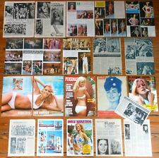 MISS EUROPE Beauty Contest 1960s/1970s clippings Collection magazine world