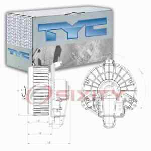 TYC Front HVAC Blower Motor for 2010-2016 Toyota Venza Heating Air la