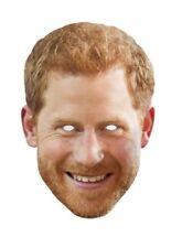 Prince Harry Royal Single 2D Card Party Face Mask - Meghan Markle's Fiance