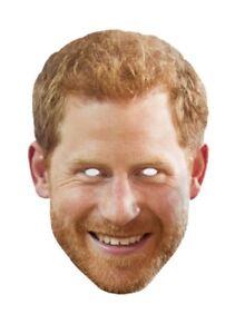 Prince Harry Real Individual 2D Careta de Cartón Fiesta - Platino Jubilee