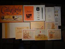Vintage Ken Brown Calligraphy Kit Complete w/ Original Box 1989 & Inserts NICE!!