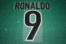 Inter Milan 98/99 #9 RONALDO Awaykit Nameset Printing