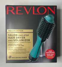 Revlon PRO Collection Salon One Step Hair Dryer and Volumizer Brush MINT Blue